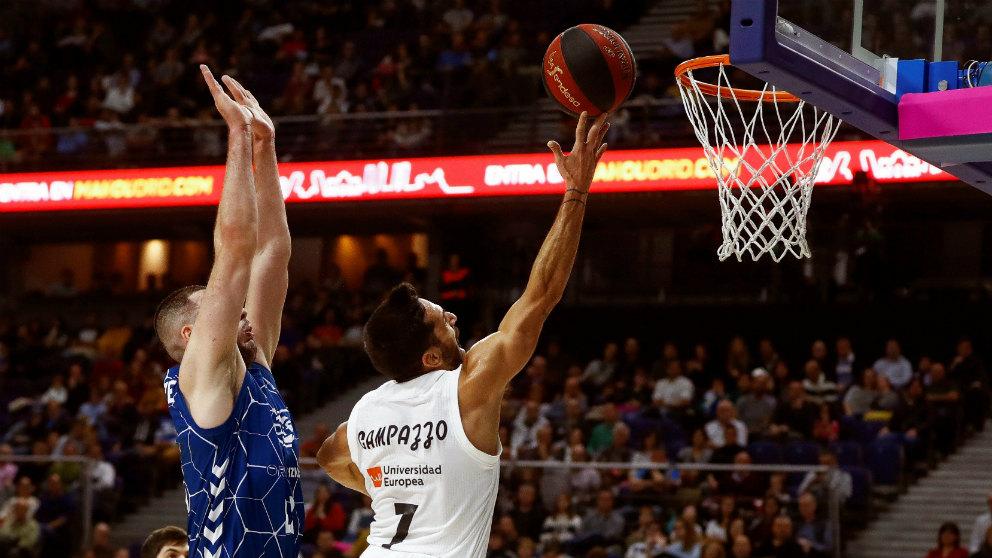 El Real Madrid se impuso al Guipuzkoa Basket en Liga Endesa. (EFE)