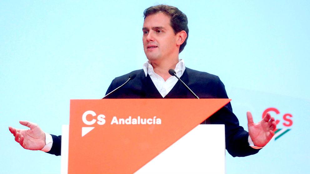 El presidente de Ciudadanos, Albert Rivera (Foto: EFE).
