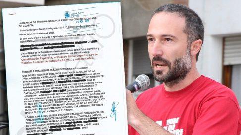 Un jefe de Policía denuncia al alcalde independentista Aleix Auber por falsedad documental.