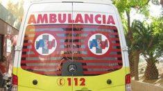 Una ambulancia de los servicios de Emergencia.