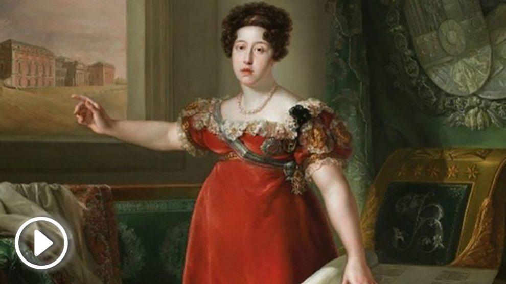 Retrato de María Isabel de Braganza, fundadora del Museo del Prado. Foto: Europa Press