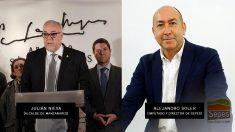 El alcalde de Manzanares junto al imputado Alejandro Soler