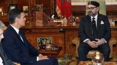 Pedro Sánchez y Mohammed VI. (EFE)