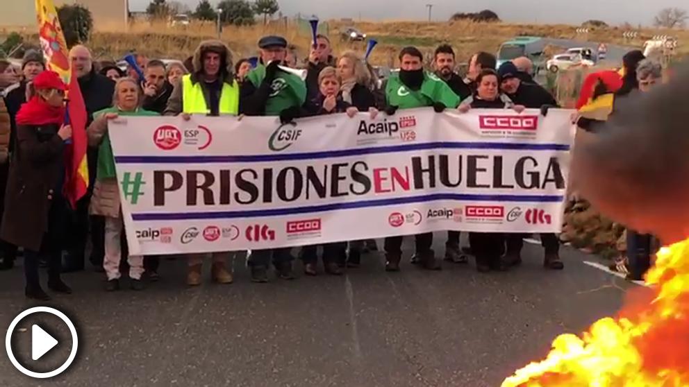 Huelga de los centros penitenciarios.