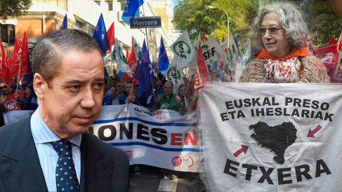 La huelga de funcionarios de prisiones deja sin visitas a Zaplana pero no a los presos etarras