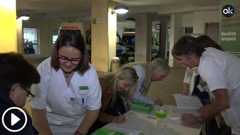 Usuarios y trabajadores de la sanidad pública andaluza en pie de guerra por el deterioro del sistema