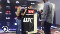 La UFC está impactada con la maniobra de Cynthia Calvillo.