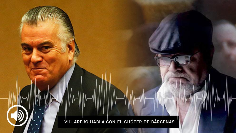 El comisario Villarejo habla con el chófer de Bárcenas, Sergio Ríos.