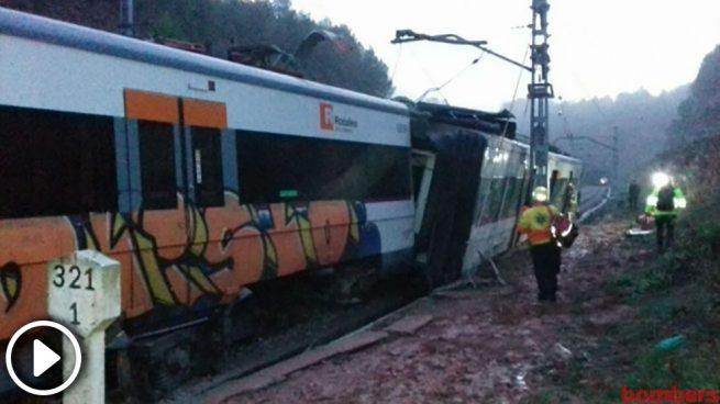 La malla de seguridad en el tramo de Vacarises ha evitado una tragedia mayor en el accidente