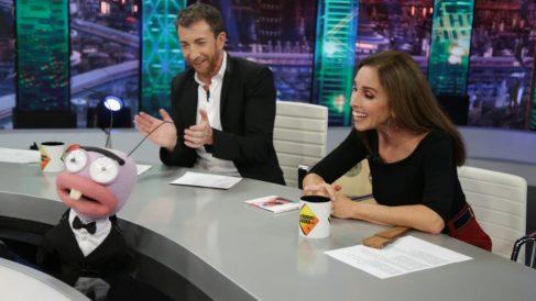 Ana Belén ayer en 'El Hormiguero'