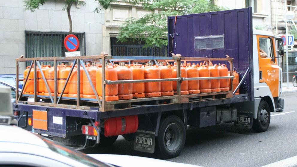 El precio de la bombona de butano subirá casi otro 5% a partir de hoy, hasta 15,33 euros (Foto: EP)