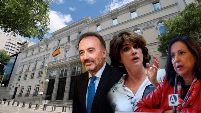 Delgado filtró la propuesta de Marchena, que condenó a Garzón, para torpedear el visto bueno de Robles