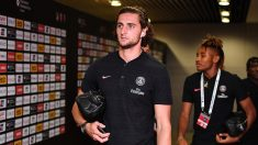 Adrien Rabiot, durante la pasada pretemporada con el Paris Saint Germain. (Getty)