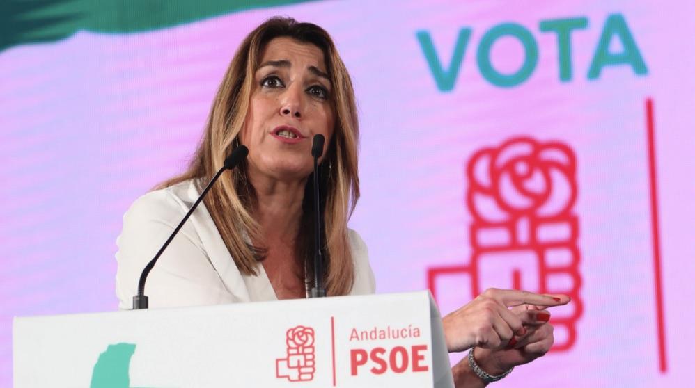 Susana Díaz en una imagen del pasado año (Foto: EFE).