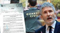Marlaska deniega los permisos a los Guardias Civiles destinados en Navidad a Cataluña