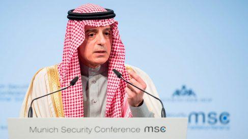 El ministro de Asuntos Exteriores de Arabia Saudí, Adel al Yubeir. Foto: Europa Press