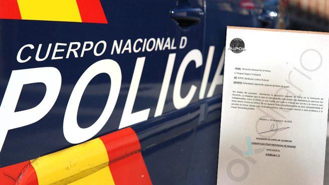 Los policías no pueden tramitar denuncias porque Marlaska no les paga los folios