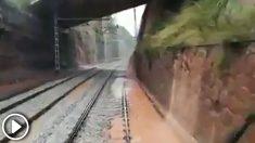 Tramo donde se ha producido el accidente de tren de Tarrasa