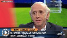 Inda desveló las intenciones del Barcelona para meter en cintura a Dembélé.
