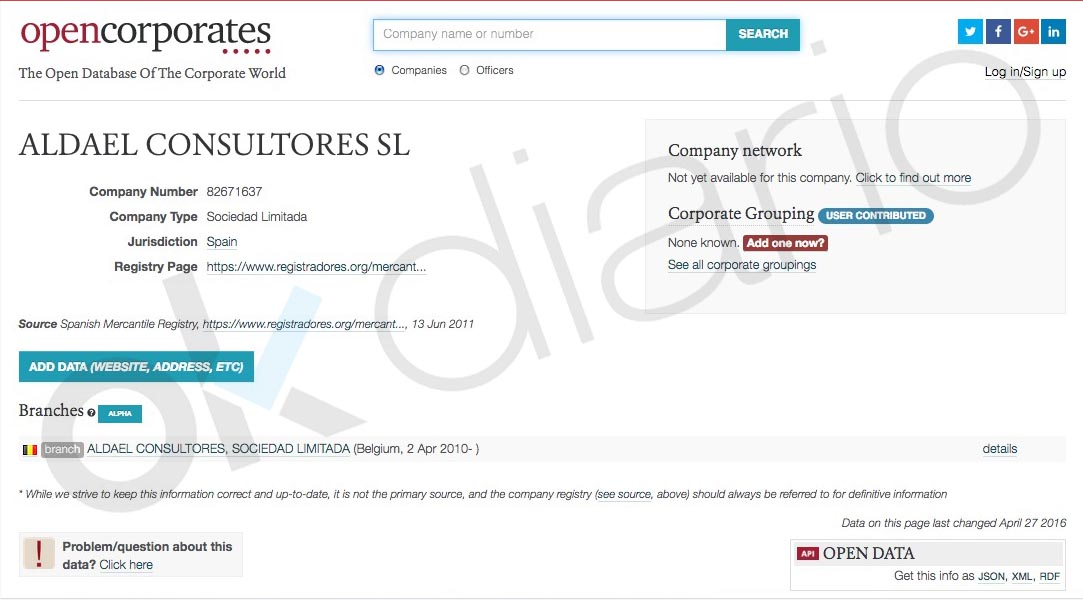 Calviño miente: su patrimonial abrió filial en Bruselas al ser nombrada nº 2 de Mercado Interior de la UE
