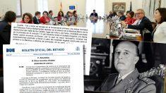 """El Gobierno reconoce que la tumba de Franco es """"inviolable"""" sin la autorización del prior de la Basílica del Valle de los Caídos"""