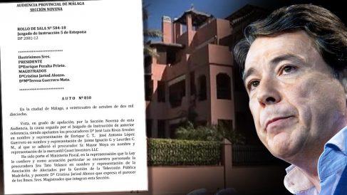La Audiencia de Málaga ordena que la investigación del dúplex de Ignacio González continúe en Estepona.