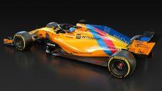 McLaren con el que Fernando Alonso correrá el GP de Abu Dhabi. (Europa Press)