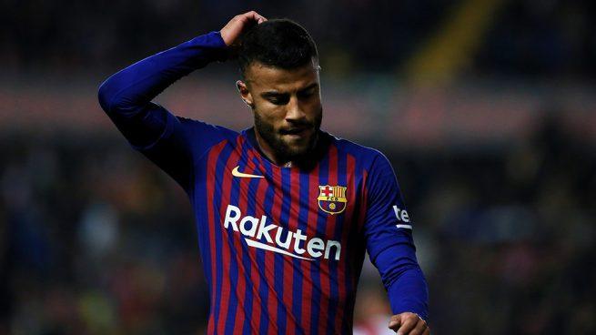 Otro lío en el Barça: Rafinha quiere irse ya