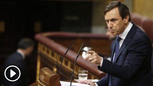 Rafael Hernando, portavoz del PP en el Congreso de los Diputados. (Foto: EFE)