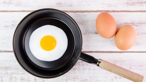 El huevo frito es más calórico que un huevo cocido