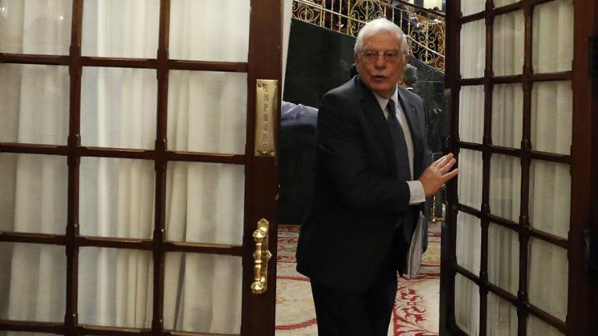 Josep Borrell este miércoles en el Congreso (EFE).