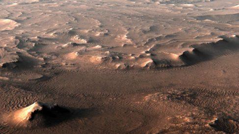 La NASA busca vida pasada en un antiguo lago de Marte