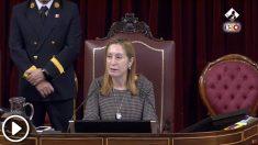 Ana Pastor en el Congreso de los Diputados.
