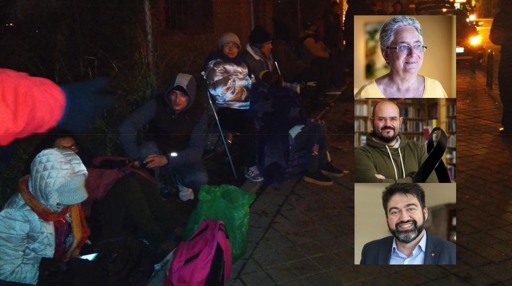 Situación de emergencia socia humanitaria y los ediles que lo denuncian. (Foto. Entre Borromeos)