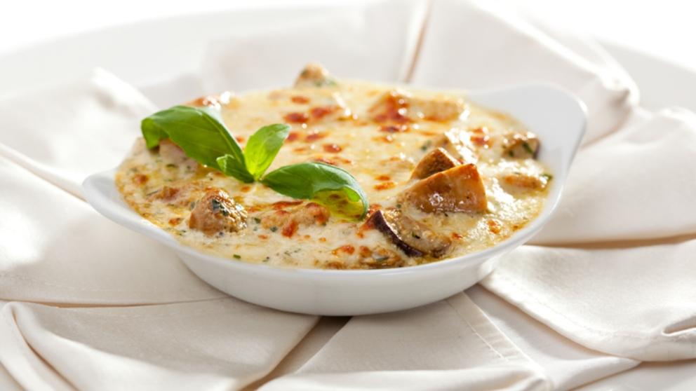 Receta de solomillo sobre camembert fundido