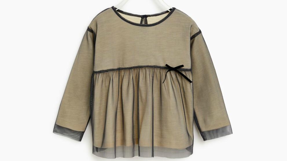 colección navideña de Zara para niña