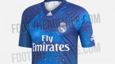 Camiseta galáctica del Real Madrid.