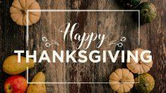 Día de Acción de Gracias. Por qué dárselo a conocer a los niños