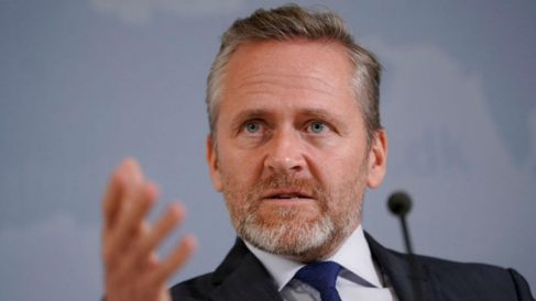 El ministro de Asuntos Exteriores de Dinamarca, Anders Samuelsen.