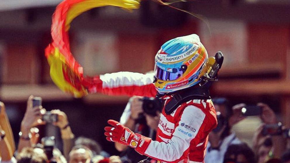 Fernando Alonso presume de patriotismos antes de su última carrera en la F1.