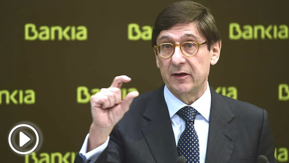 El presidente de Bankia, José Ignacio Goirigolzarri. (Foto: AFP)