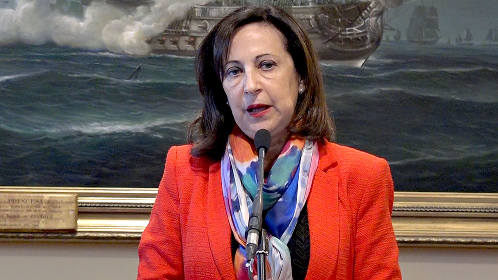 Margarita Robles en una reciente imagen (Foto: Enrique Falcón).