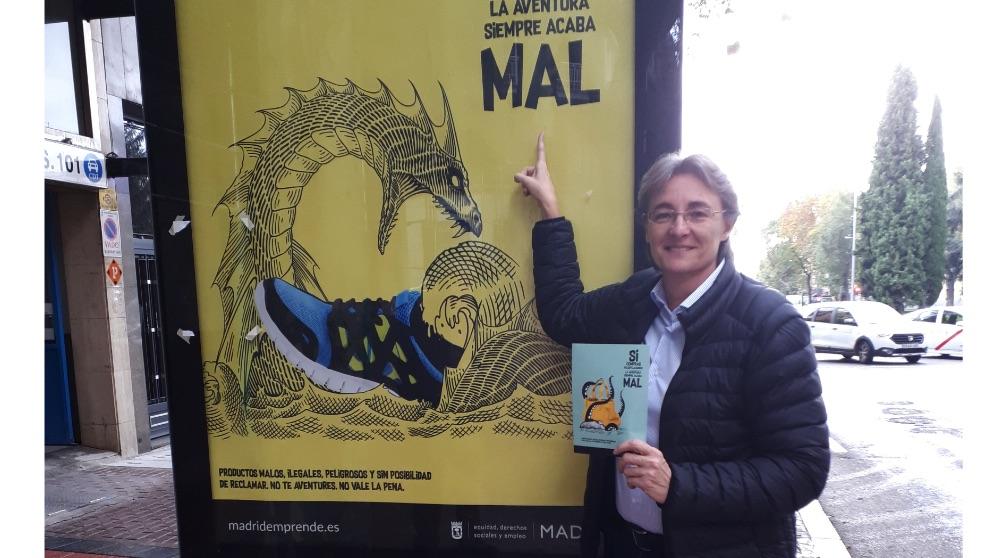 Marta Higueras presentando la campaña. (Foto. Madrid)