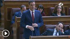 """Pedro Sánchez a Mariano Rajoy en octubre de 2015: """"¿Usted considera que después del dictamen de la Comisión Europea, los presupuestos son creíbles y rigurosos?"""""""
