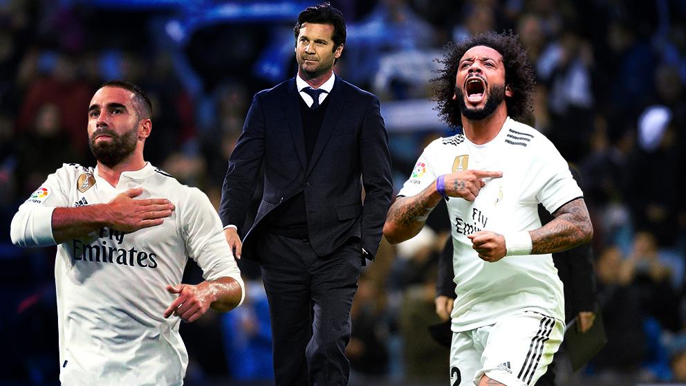 Solari recupera a Marcelo y Carvajala para el partido ante el Eibar.