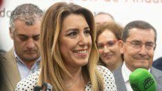 Susana Díaz este jueves (EFE).