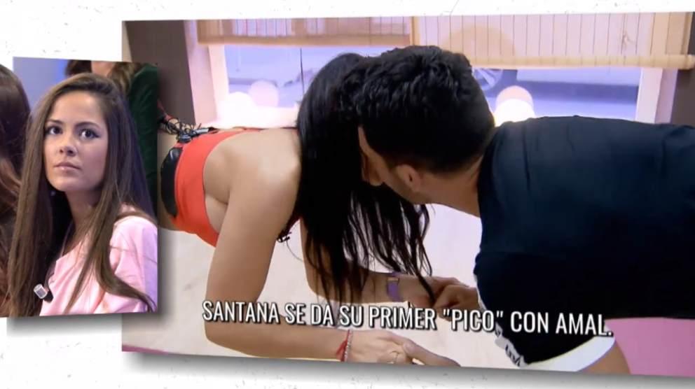 Amal y Santana en 'Mujeres y Hombres y Viceversa'