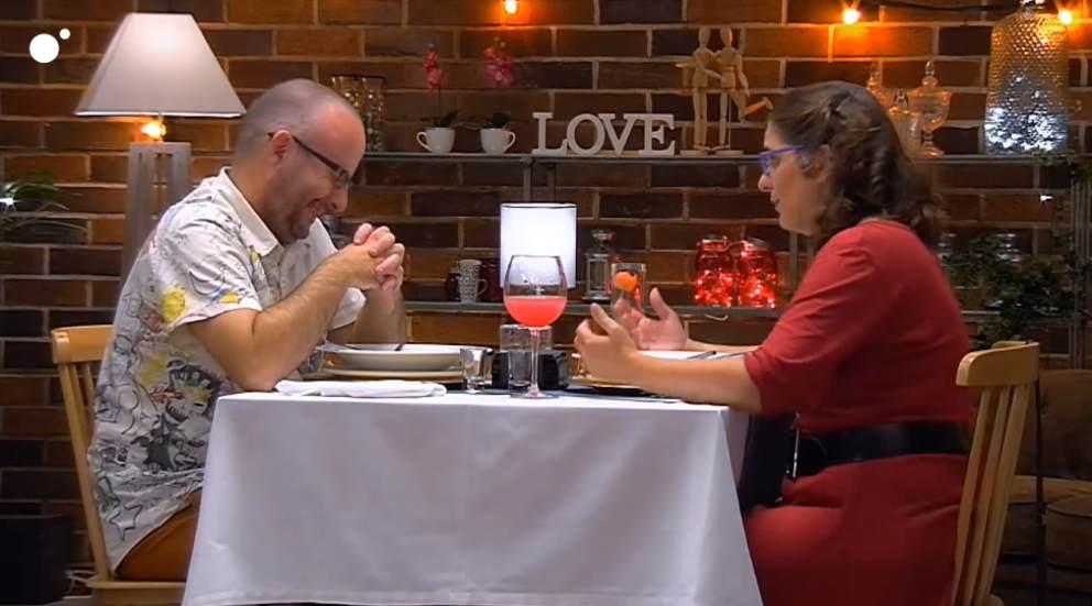 Carolina y Diego, una cita peculiar en 'First Dates'