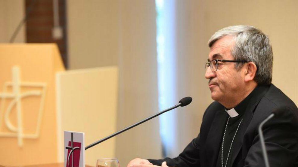 El secretario General de la conferencia Episcopal Luis Argüello García (EFE).