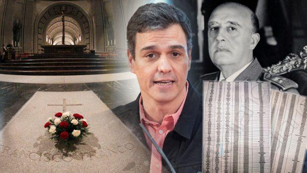 Sánchez quiere exhumar del Valle de los Caídos restos de 184 personas sin haberlo notificado a sus familias